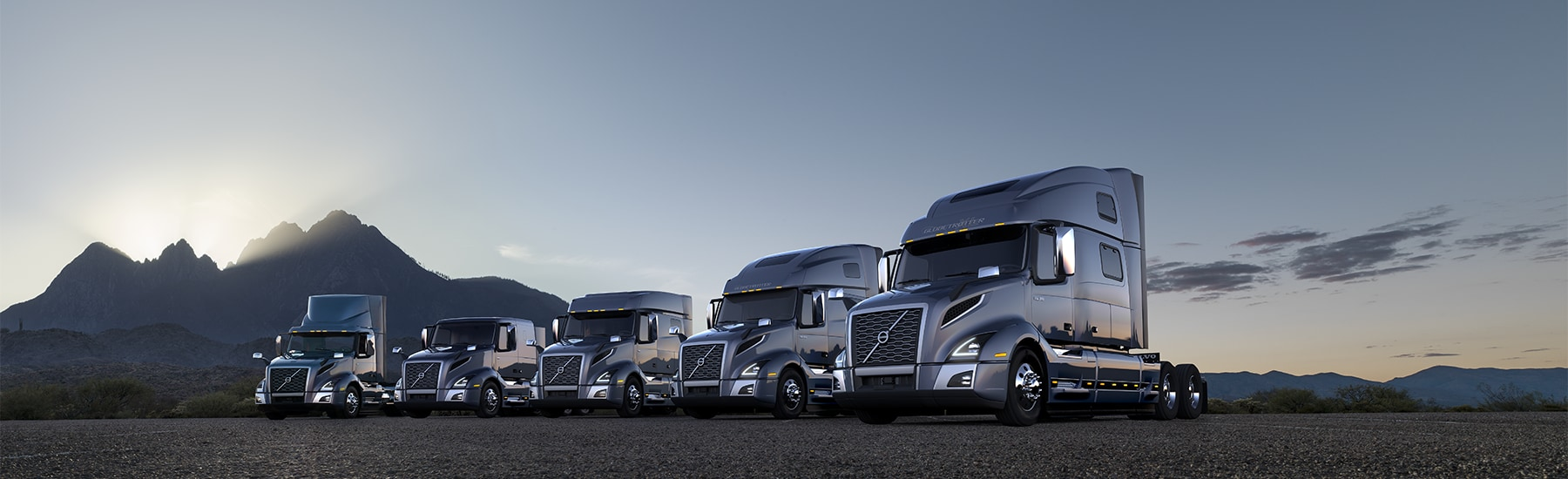 Volvo Truck Lineup
