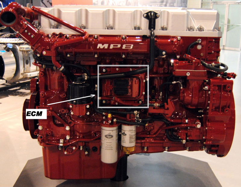 MP8 engine 2